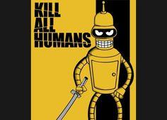 Нападение робота на человека