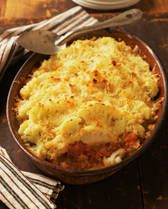 Potatoes with Ham and Cheese - Have leftover ham? Try au gratin potatoes.
