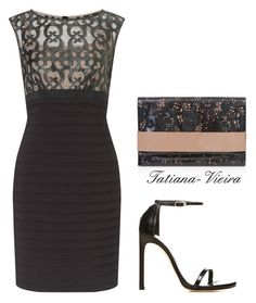 25 by tatiana-vieira on Polyvore featuring Adrianna Papell, Stuart Weitzman, BUCO, women's clothing, women's fashion, women, female, woman, misses and juniors