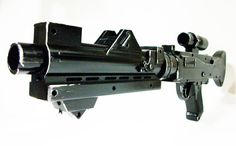 Star Wars Clone Trooper Stormtrooper DC 15 electronic blaster gun with sound and lights full size on Etsy, $175.00