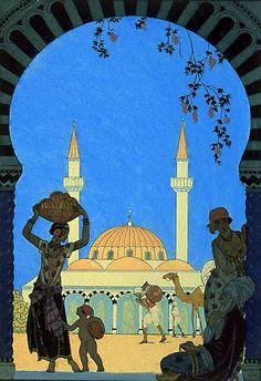 George Barbier (1882–1932). Fairy Tale No 53. [Pinned 26-v-2015]