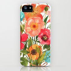 BOUQUET iPhone & iPod Case by oana befort - $35.00