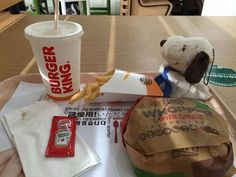 CollectPeanuts.com on Facebook - Feeling Inspired? SeeYan shared this photo of a meal at Burger King with Snoopy after viewing our Sunday video.   Where will Snoopy take you? Post photos of your Peanuts adventures on the CollectPeanuts.com Facebook wall.