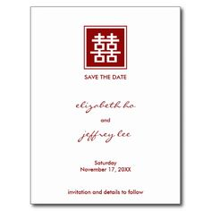 Oriental Style Wedding Postcard By Kanjiz  Chinese Style Wedding