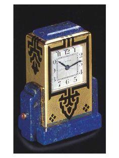 Vintage Clock Cartier