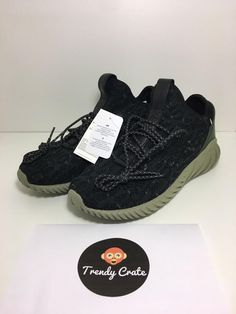quality design 821a2 2fd70 NEW Men s Adidas Tubular Doom Sock Primeknit - Size 9.5 Black