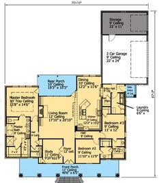3 Bed French Acadian House Plan - 56327SM | Acadian, Southern, Photo Gallery, 1st Floor Master Suite, Butler Walk-in Pantry, Den-Office-Library-Study, Jack & Jill Bath, PDF, Split Bedrooms, Corner Lot | Architectural Designs