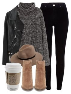 Untitled #5572 by laurenmboot on Polyvore featuring polyvore, fashion, style, H&M, Acne Studios, River Island, Steve Madden, rag & bone and clothing