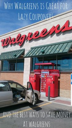 Walgreens is one of the best places to save money because of their wide variety of money saving options. It's also a great place for lazy couponers to shop! Be sure to read this post on how to get the most bang for your buck at Walgreens.