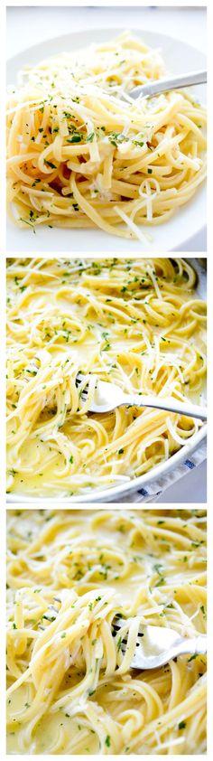 One Pot Three Cheese Pasta