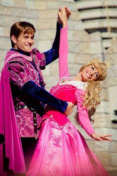 Prince Philip and Princess Aurora. Disney World. Disney Princess Aurora, Disney Princess Quotes, Disney Couples, Disney Love, Disney Magic, Princess Bubblegum, Disney Disney, Disney Stuff, Walt Disney World