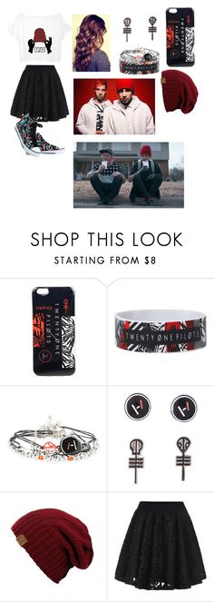 """""""Twenty øne piløts fan #1"""" by gglloyd ❤ liked on Polyvore featuring Hot Topic"""