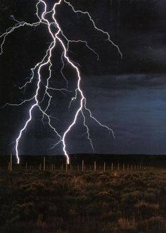 The Lightning Field is a land art work in Catron County, New Mexico, by sculptor Walter De Maria. It consists of 400 stainless steel poles with solid, pointed tips, arranged in a rectangular 1 mile × 1 kilometre grid array. The Lightning Field, Thunder And Lightning, Lightning Strikes, Lightning Storms, Lightning Images, Weather Cloud, Wild Weather, Thunder Weather, Land Art