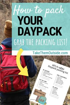 Have you ever found yourself on the trail without a first aid kit water an extra hat or your bug spray? Make sure you've always packed the essentials for your family hikes with these printable dayhike checklists. Hiking Checklist, Hiking Tips, Survival Project, Survival Prepping, Hiking First Aid Kit, Fun Outdoor Games, Outdoor Activities, Best Camping Gear, Camping Tips