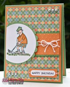 Stampin' Anne: Boys and Their Toys for Our Creative Corner Golf Birthday Cards, Handmade Birthday Cards, Boy Cards, Kids Cards, Men's Cards, Greeting Cards, Masculine Birthday Cards, Masculine Cards, Hand Stamped Cards