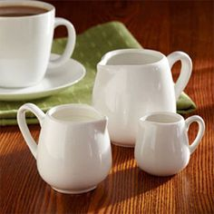 Buy the American Metalcraft Creamer & Frothing Pitcher at KaTom. Coffee Service, Tea Service, American Metalcraft, Tabletop Accessories, 1 Oz, High Tea, White Porcelain, Classic Style, Mugs