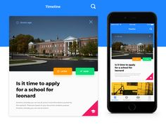 Virtual Assistant / Timeline [UI] by Youssef Rina