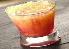Barbie Shot (1 oz Malibu rum 1 oz Absolut Vodka 1 oz Cranberry juice 1 oz Orange juice)