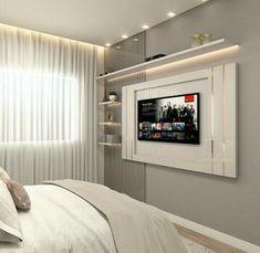 Home Design Decor, Home Room Design, Home Office Design, Interior Design Living Room, Luxury Bedroom Design, Bedroom Bed Design, Home Decor Bedroom, First Apartment Decorating, Small Room Bedroom