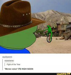 Overwatch, High, Noon, Cancer, Meme