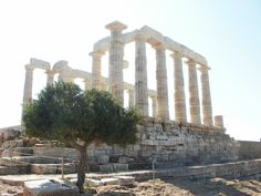 Temple of Poseidon at Sounio Life In Greece: Athens Capital City, Athens, Temple, Greece, Places, Blog, Life, Greece Country, Temples