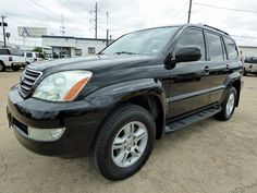 Black Beauty! Come Drive Home in This Gorgeous 2007 #Lexus GX 470 #4WD Luxury SUV Loaded with Equipment, Just 109K Miles & a Clean CARFAX for Just $13,998! -- http://hertelautogroup.com/2007-Lexus-GX470/Used-SUV/FortWorth-TX/9125993/Details.aspx  #lexusgx #toyotalandcruiser #lexuslx #luxurysuv #cadillacescalade