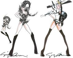 Armani—The Designer of Lady Gaga's New Tour Costumes