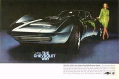 The Chevrolet Way ad - Corvette Mako Shark II concept