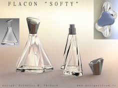 Perfume Bottle Design - like the skirt of an elegant ball gown. Bottle Design, Glass Design, Glass Bottles, Perfume Bottles, Elegant Ball Gowns, Name Design, Portfolio Design, Packaging Design, Fragrance