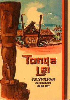 Bora Bora, Tahiti, Vintage Menu, Vintage Tiki, Tiki Art, Tiki Tiki, Tiki Restaurant, Tiki Hawaii, Tiki Lounge