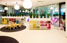 otto - Archive for Childcare center Kindergarten Interior, Kindergarten Design, Learning Spaces, Learning Centers, Early Childhood Centre, Interior Design Awards, Classroom Setting, Education Center, Preschool Classroom