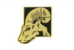 What's Your Zodiac Sign? Aries Hard Enamel Pin.