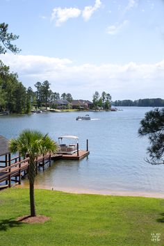 waterfront tour of a lake murray south carolina home in my own style