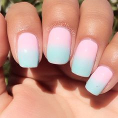 ♥♥ Looks like cotton candy