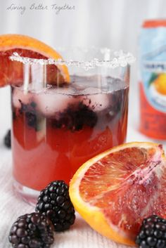 Blood Orange & Blackberry Rum Runner