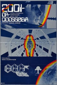 2001: A Space Odyssey - Hungarian Poster
