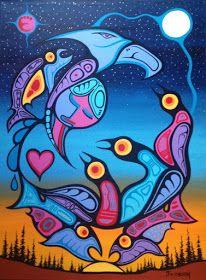 Transcendence through our Mothers love Native American Artwork, Woodland Art, Haida Art, Aboriginal People, Aboriginal Art, Indigenous Art, Native Art, Indian Art, Art Sketches