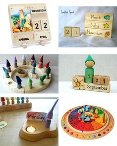 Gorgeous Waldorf Calendars | how we montessori | Bloglovin'