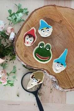 Yummy and cute Royal Icing Sugar Cookies, perfect for your Sherlock Gnomes parties or movie premier!