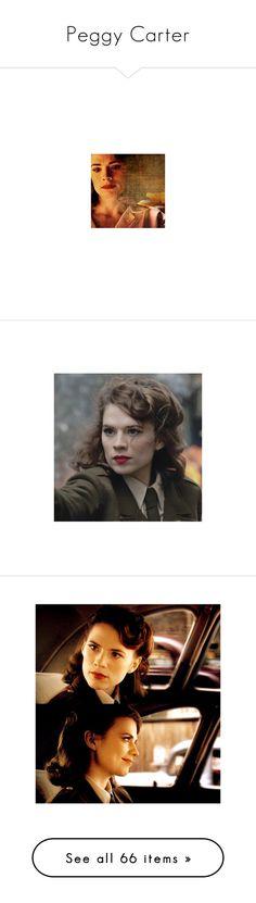 """Peggy Carter"" by littlemisteria ❤ liked on Polyvore featuring scroll_position, FandomBattlesFive, marvel, hayley atwell, peggy carter, agent carter, comics, home, rugs and bright red area rug"