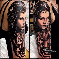 Tattoo by Justin Hartman