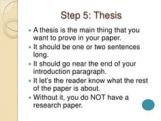 steps to writing a research paper, 17.05.2017
