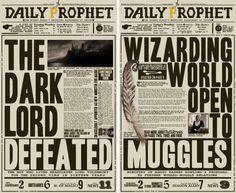 Potter Frenchy Party - Une fête chez Harry Potter: Décoration : goodies Harry Potter sur Deviantart