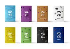 Nya Tea packaging Signér+Featherstone