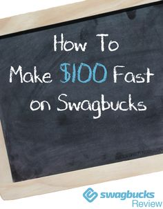 Want to know how to make $100 FAST on Swagbucks? Learn exactly how in my Swagbucks review. You can even play games and get paid. (Hint, 100 SB=$...??)