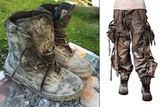 Distressing Costume for Post-Apocalyptic LARP DIY