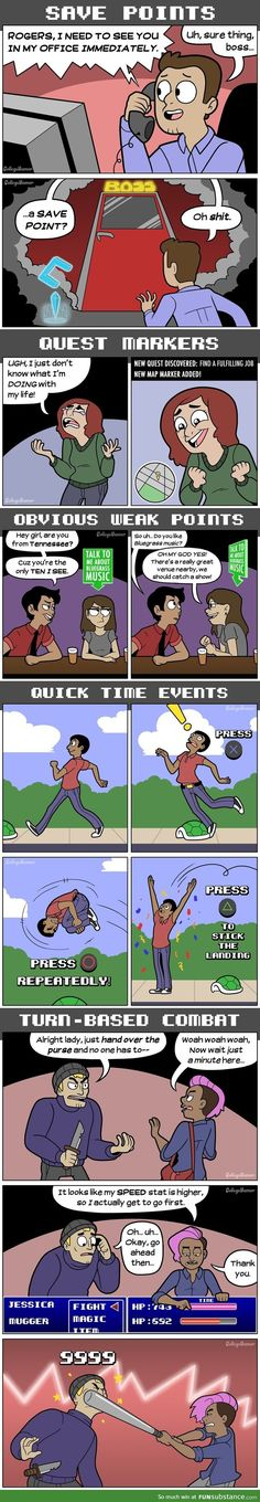 Life as a video game