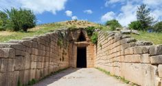Visit Mycenae, one of the most important archaeological sites in Greece. The kingdom of Agamemnon, father of Alexander the Great, sung by Homer. Greece Tourism, Dome Structure, Mycenae, Archaeological Site, Tour Guide, Garden Bridge, Travel Guides, Mystery, Tours