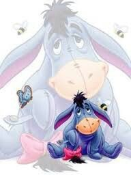 Eeyore - Eeyore You are in the right place about Eeyore Tattoo Design And Style Galleries On The Net – Are - Cute Winnie The Pooh, Winne The Pooh, Winnie The Pooh Quotes, Disney Fun, Baby Disney, Tigger Disney, Disney Stuff, Disney Drawings, Cute Drawings