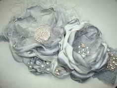 Baby Headbands Flower Headbands Etsy Baby by lepetitejardin